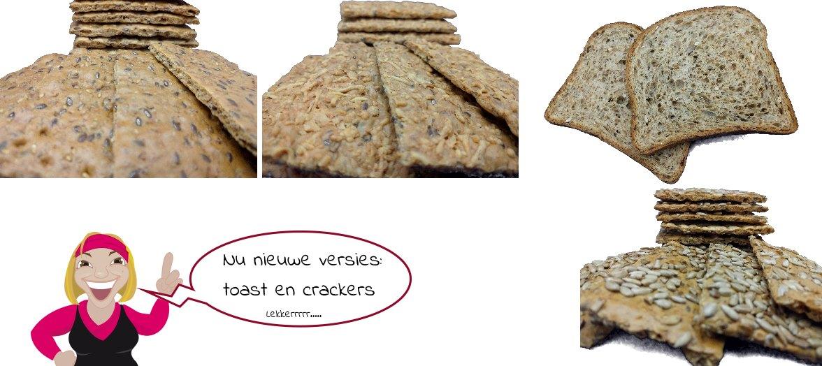 Lekkere koolhydraatarme crackers