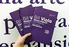 Booklet Bill Viola. Rinascimento elettronico