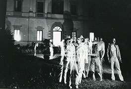 Conferenza Villa Romana negli anni '70