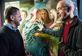 Bill Viola e il restauro della Visitazione