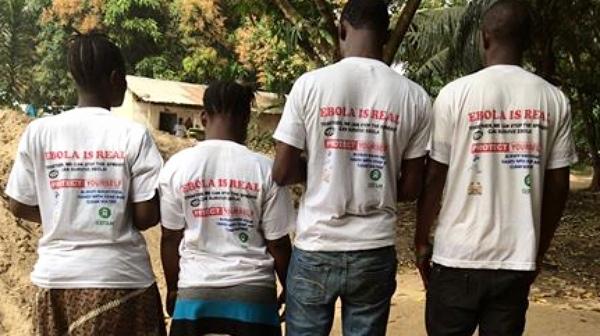 Ebola survivors, by Alpha Kamara