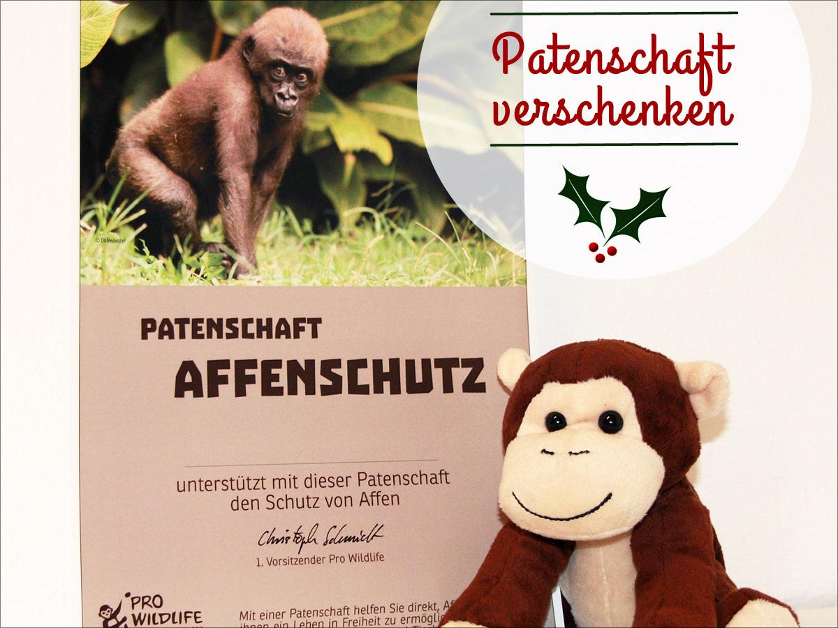 Affenpatenschaft verschenken