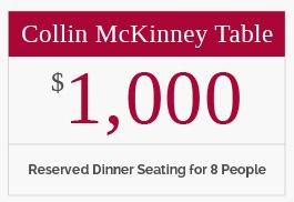 Collin McKinney Table