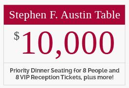 Stephen F. Austin Table