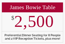 James Bowie Table