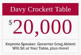 Davy Crockett Table