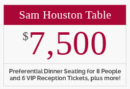 Sam Houston Table