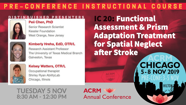 IC 20: Functional Assessment and Prism Adaptation Treatment for Spatial Neglect after Stroke (593198)