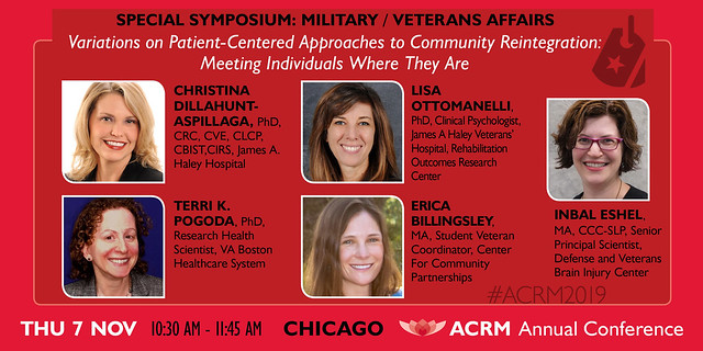 SPECIAL SYMPOSIUM: Variations on Patient-Centered Approaches to Community Reintegration: Meeting Individuals Where They Are. (602546)