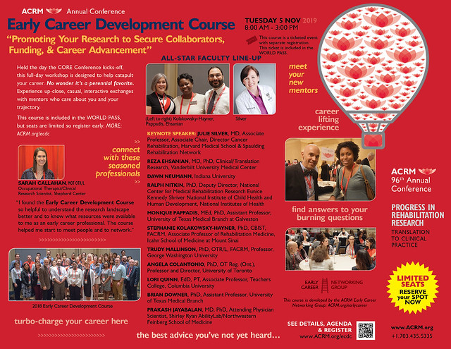 Early Career Development Course: Promoting Your Research to Secure Collaborators, Funding, & Career Advancement (600995)