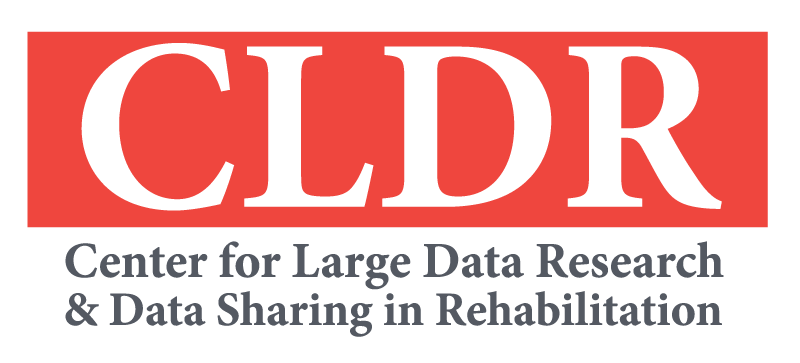 Center for Large Data Research and Data Sharing in Rehabilitation (CLDR) logo