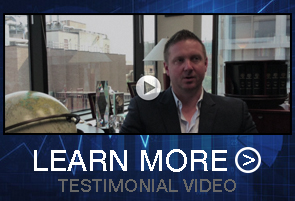 """Image of pilot project testimonial video and text, """"LEARN MORE"""""""