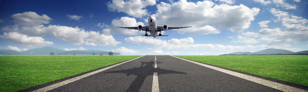 photo of plane landing