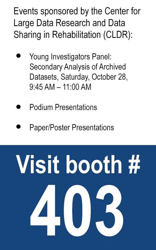 Events sponsored by the CLDR at ACRM