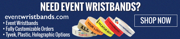 Need Event Wristbands? Look no further!