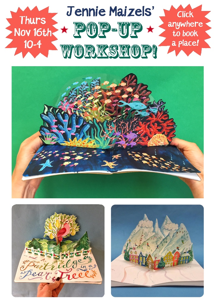 Come to Jennie's Special Pop-Up Card Workshop!