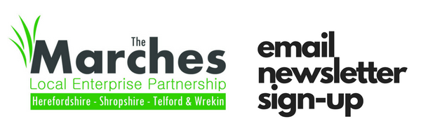 Marches LEP newsletter signup header