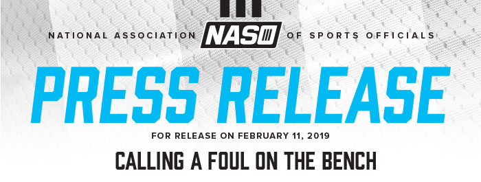 National Association Of Sports Officials - Press Release