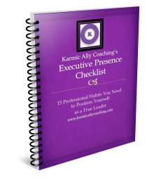 Executive Presence Checklist