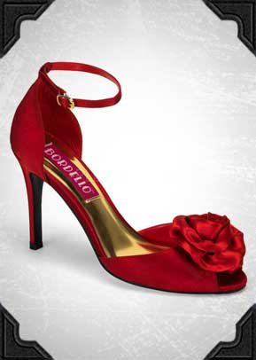 Rosa Shoes in Red just £35