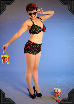 Esther Williams Cherry Bikini