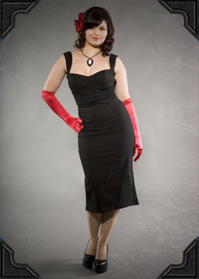 Jessica Wiggle Dress by PinUp Couture