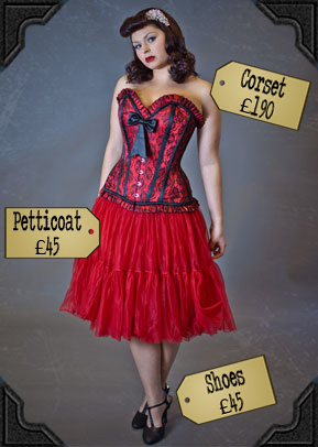Pigalle Corset and Petticoat