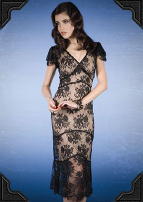 Stop Staring Lace Dress - 30% OFF