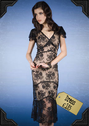 Stop staring Lace Dress £185