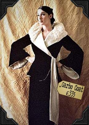 Garbo Coat £335