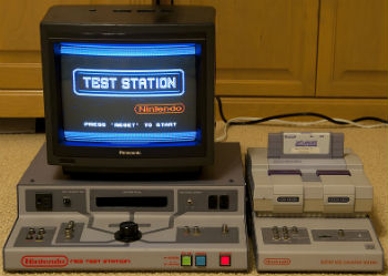 Game testing unit