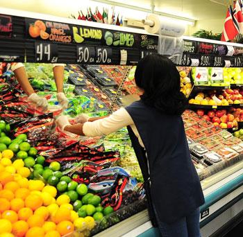 Supermarket assistant