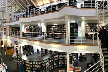 Homerton Library, Cambridge