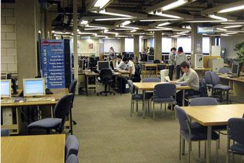 Library at Lougborough University