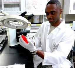 Science lab technician