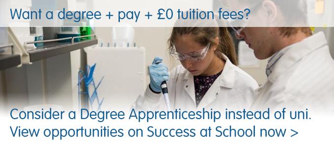 Degree apprenticeships banner