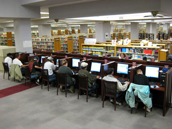 A library in the US