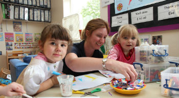 Apprenticeship in childcare