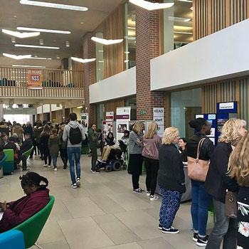 Newman University open day