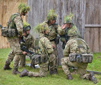 Training at Sandhurst