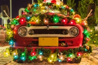 Dürfen Sie zu Weihnachten Autoschmuck anbringen?