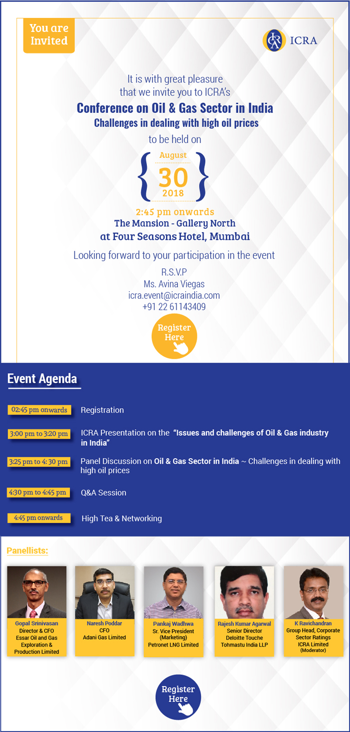 Event Invite for Oil & Gas sector conference