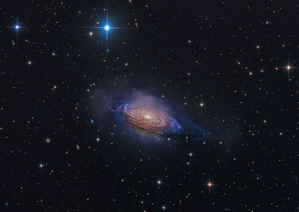 Steven Mohr's winning entry in this year's Insight Investment Astronomy Photographer of the Year competition of spiral galaxy NGC 3521