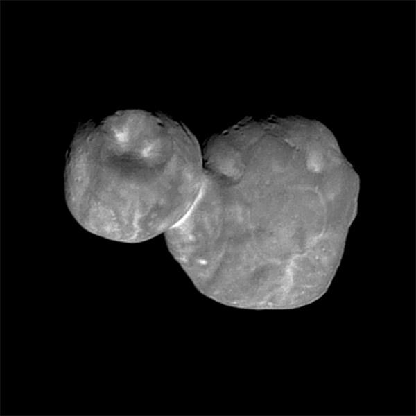 Kuiper belt object 2014 MU69, informally known as Ultima Thule