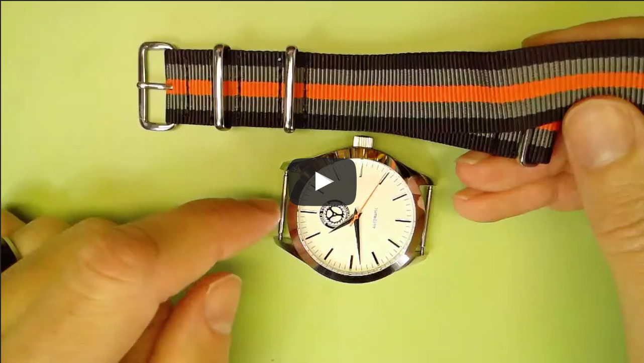 Build Your Own Watch Nato Strap Video