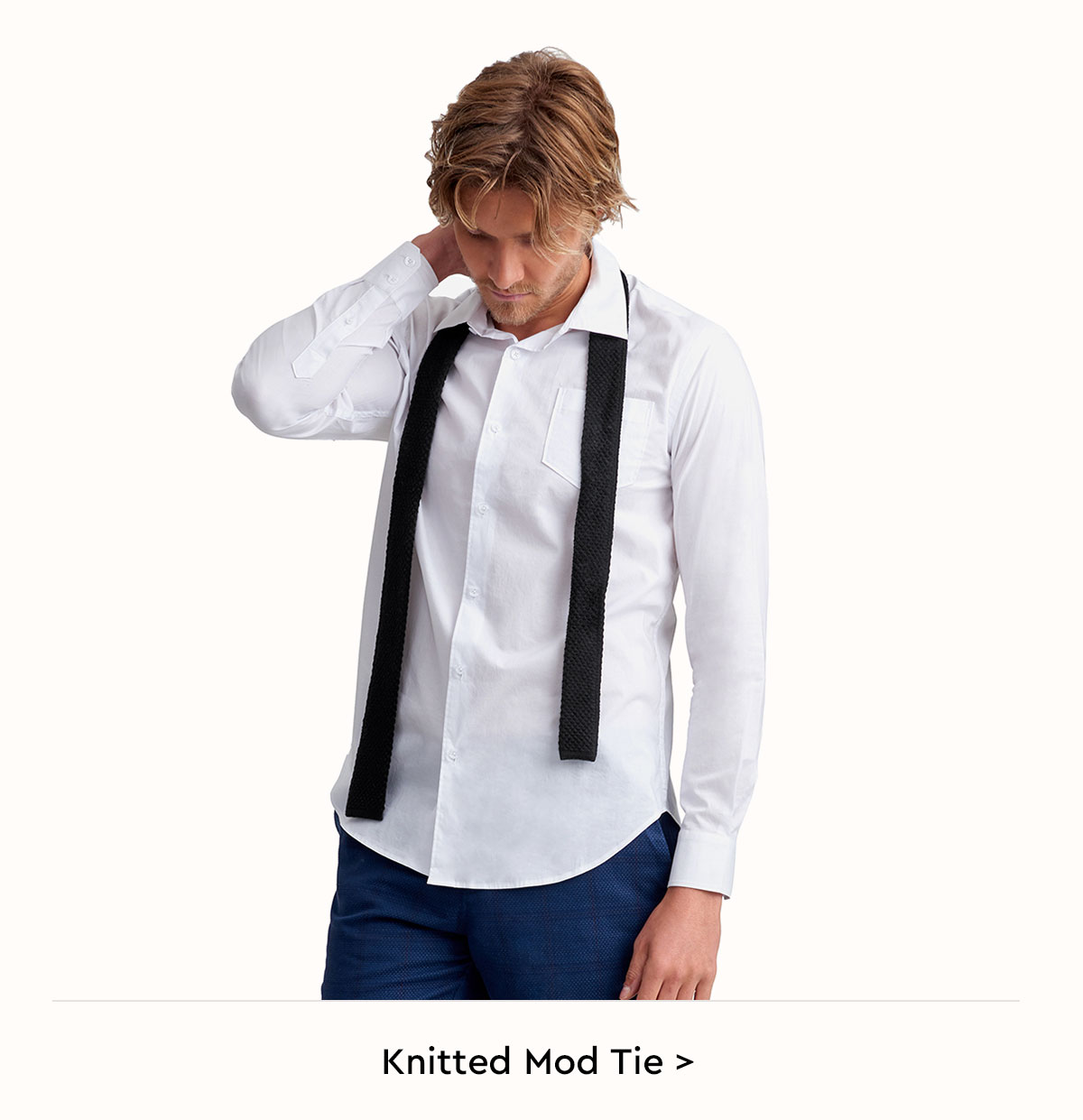 Knitted Mod Tie