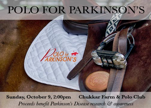 """Polo for Parkinson's """"Save the Date"""""""