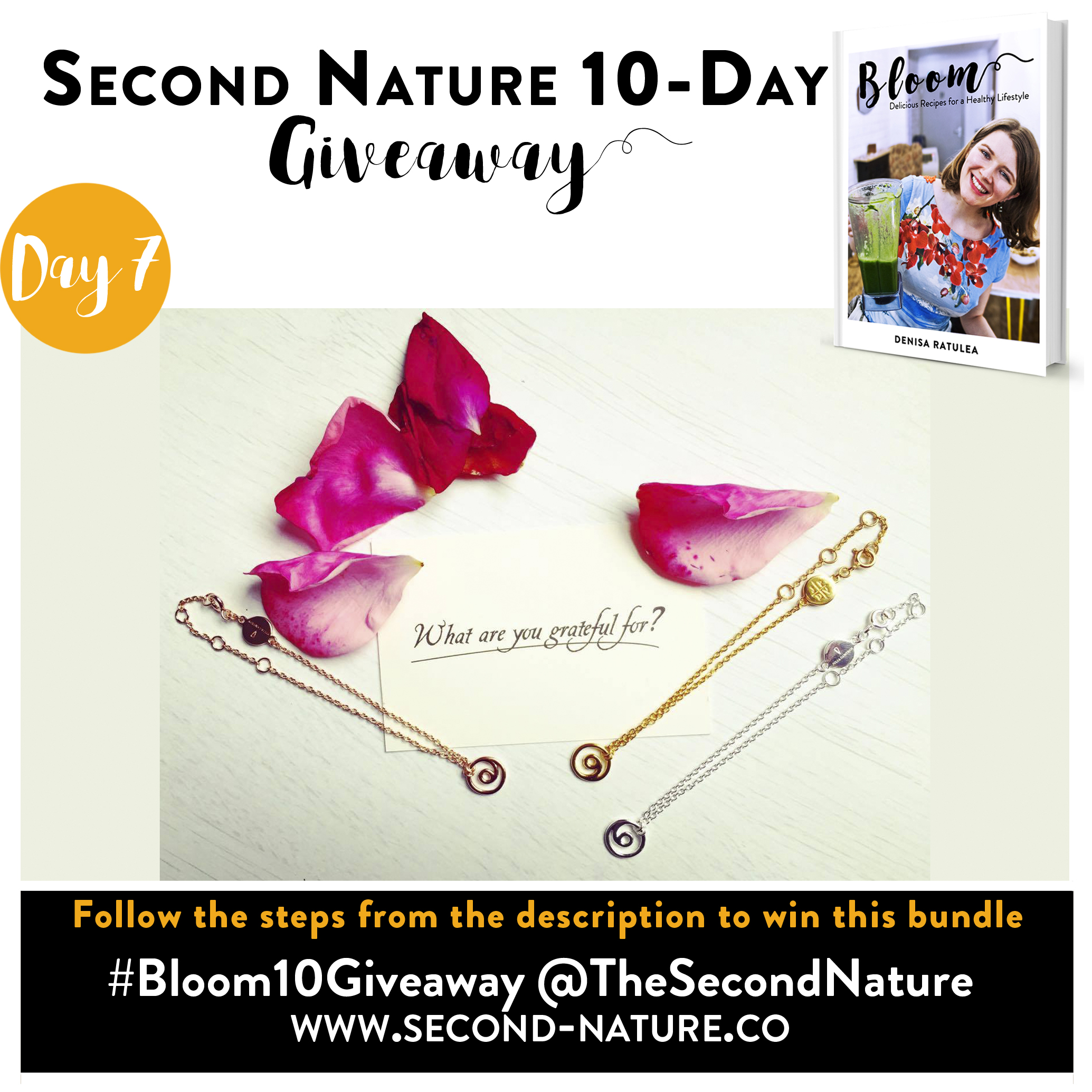 Day 7 Bloom Giveaway