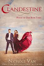 Clandestine, A Historical Romance, On Sale Now