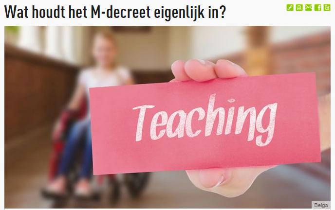 foto met daarop 'teaching'